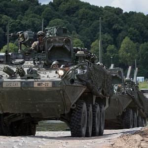NATO-Manöver Saber Strike 2018